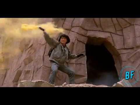Джеки Чан прыжок на парашют.Доспехи Бога (1987)