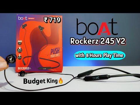 BoAt Rockerz 245 v2 Budget Earphone Unboxing