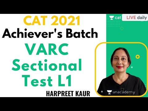 VARC Sectional Test