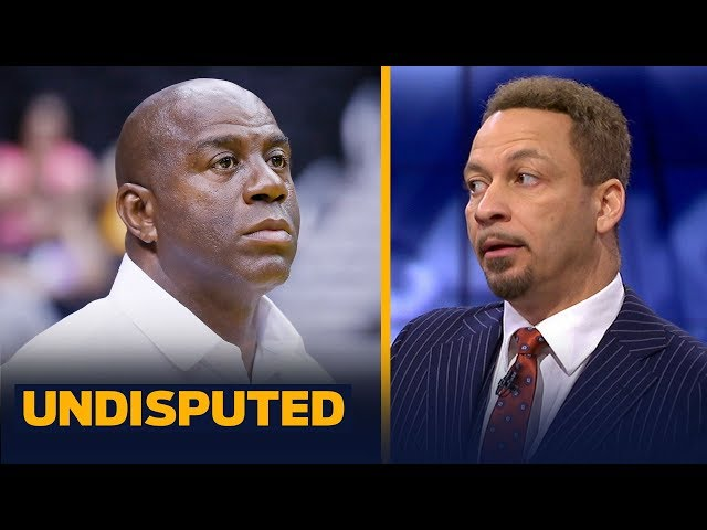 Magic Johnson 'was wrong' in how he resigned from Lakers, says Chris Broussard   NBA   UNDISPUTED