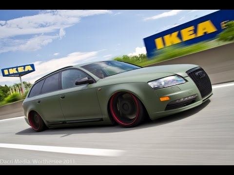 audi a6 4f tuning youtube. Black Bedroom Furniture Sets. Home Design Ideas
