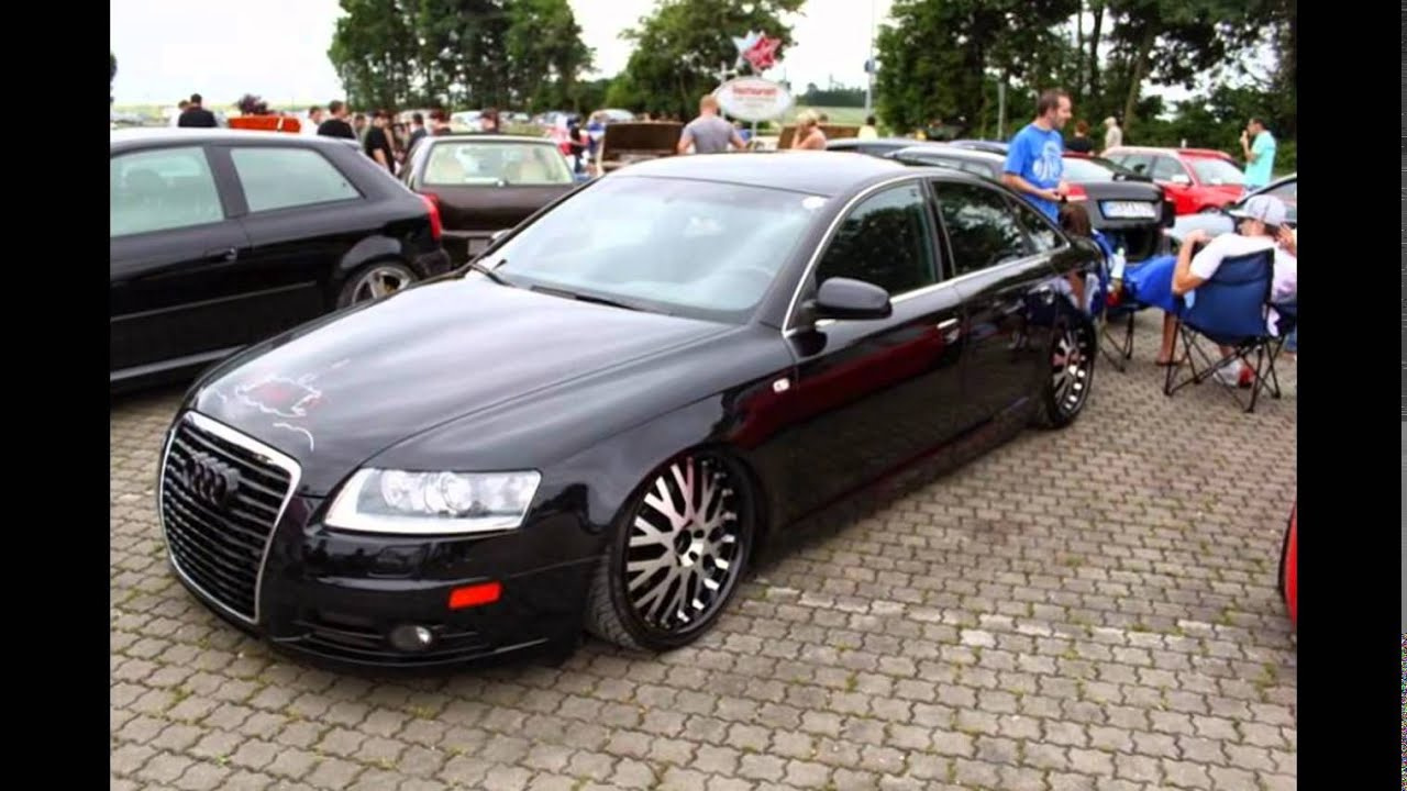 audi a6 4f tuning youtube