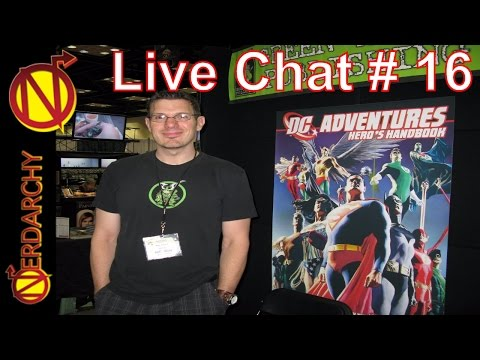 Nerdarchy Live Chat #16- Steve Kenson Tabletop Role-Playing Game Creator