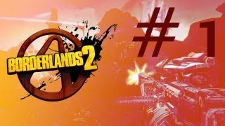 Borderlands 2 PC Gameplay, Analysis & First Impressions Review ( max settings + Nvidia Physx )