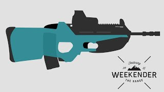 The Weekender! FN F2000 Hands-On! (Slow motion shooting!)