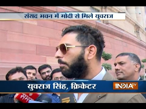 Yuvraj Singh Meets PM Modi, Invites Him into his Marriage