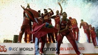 West Indies Team Celebrations After Winning T20 2012 World Cup