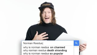Norman Reedus Answers the Web&#39s Most Searched Questions  WIRED