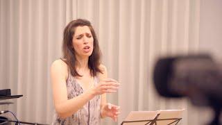 """Beethoven: """"An die Hoffnung"""", Op. 94 (Na'ama Goldman & Hana Lee)"""