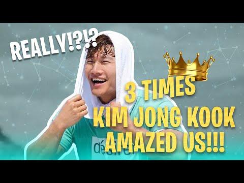 [Running Man] No One Can Stop Kim Jong Kook   AMAZING Moments