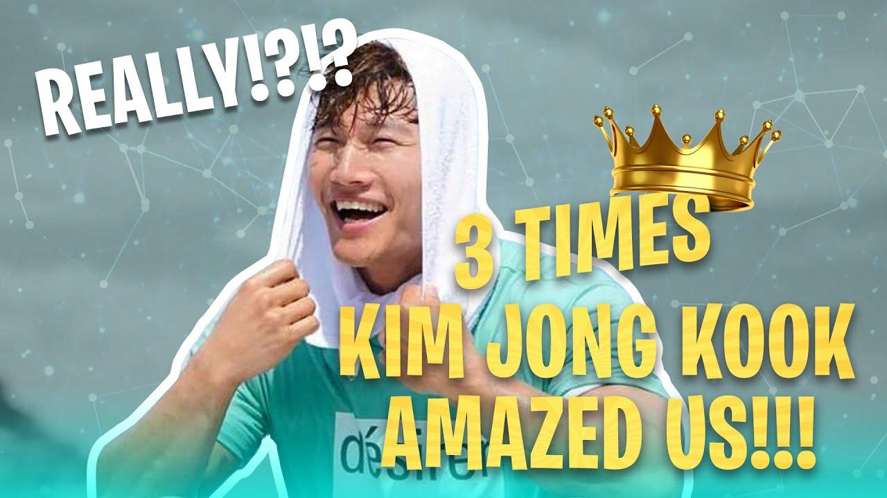 Download [Running Man] No one can stop Kim Jong Kook | AMAZING moments