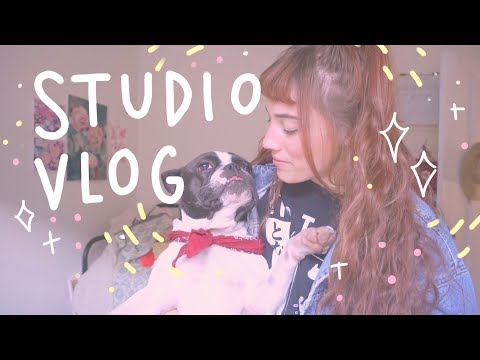 Studio Vlog #7 / P.O Box! + commissions + holiday products