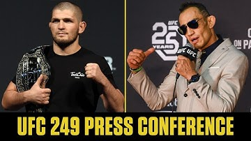 Khabib Nurmagomedov vs. Tony Ferguson | UFC 249 Press Conference | ESPN MMA
