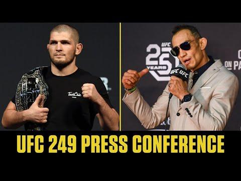 Khabib Nurmagomedov Vs. Tony Ferguson   UFC 249 Press Conference   ESPN MMA