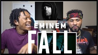 THE GOAT IS SICK OF IT!!! Eminem - Fall  REACTION