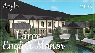 Roblox - France Bloxburg: Grand Manoir Anglais (210k)