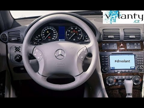Mercedes C Class Coupe >> How to disassemble the steering wheel / airbag Mercedes Benz C class w203 - YouTube
