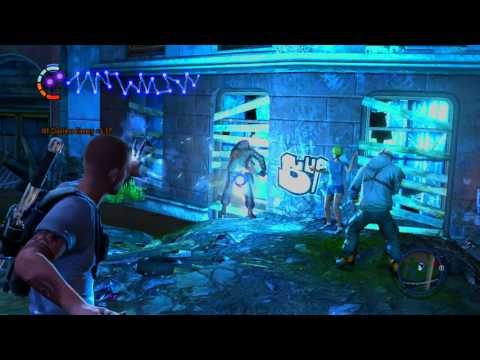 inFamous 2 100% Good Karma Walkthrough Part 47, 720p HD (NO COMMENTARY)