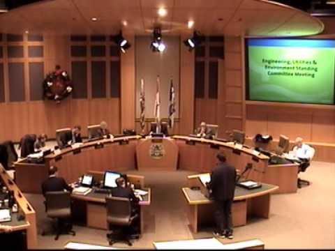 Coquitlam Engineering, Utilities & Environment Standing Committee, 2010-12-13