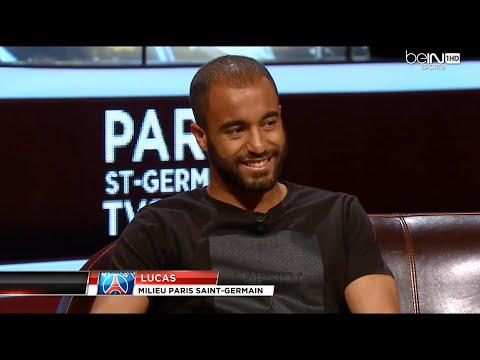Lucas - Paris Saint-Germain TV Show 24/05/15