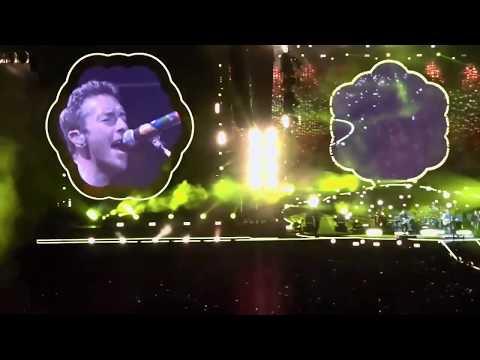 Coldplay Concert - A Head Full Of Dreams Tour - Live - Rose Bowl - Pasadena CA - October 6, 2017