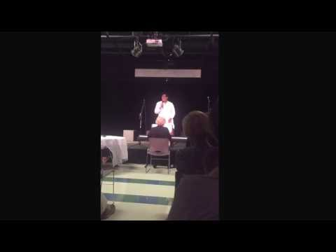 Hannah Laham singing Taylor the Latte Boy at Cape Fear Academy Cabaret 2016