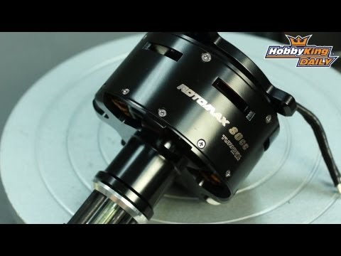 Turnigy RotoMax 80cc Size Brushless Outrunner Motor (195kv)