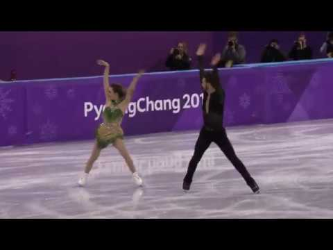 2018 Winter Olympics Ice dance Short : France (PAPADAKIS Gab