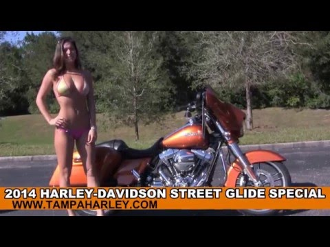 New 2014 Harley Davidson Street Glide Special Motorcycle for sale - Infotainment System