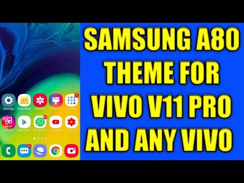SAMSUNG A80 THEME FOR VIVO V11 PRO