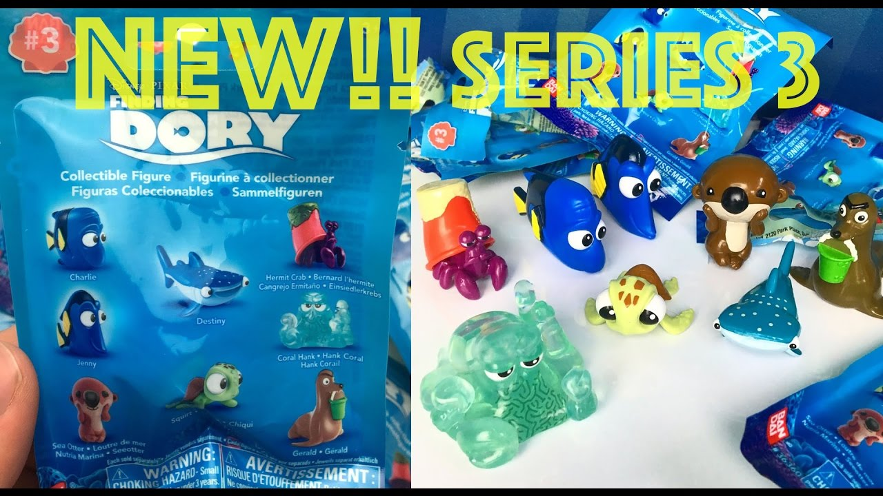 New Finding Dory Series 3 Blind Bag Collectible Mini