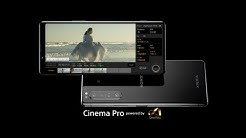 Xperia 1 II – Made for cinematographers