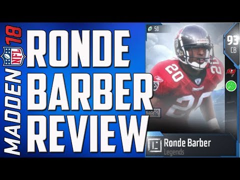 HOW GOOD IS 93 RONDE BARBER? MUT 18 CARD REVIEW