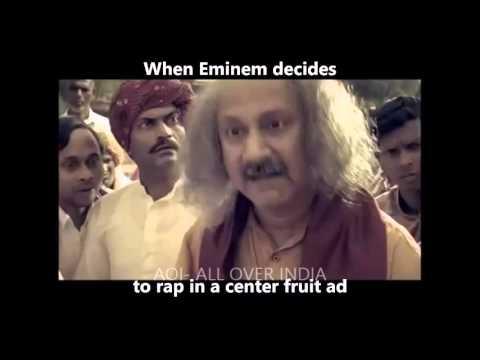 Indian Ads   Ft. Eminem Rap God.