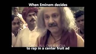 Indian Ads | ft. Eminem Rap god.