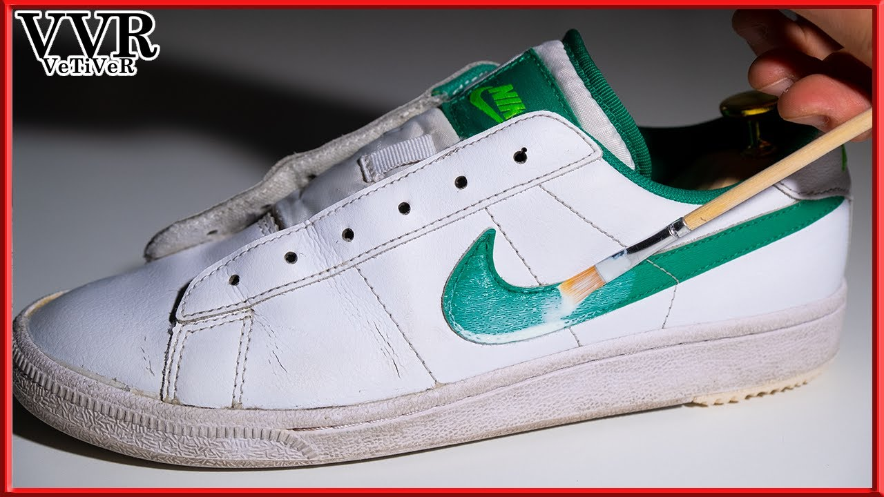 "[ASMR] 'Clean & Restore' ""NIKE"" ""Court Royale"" sneakers"