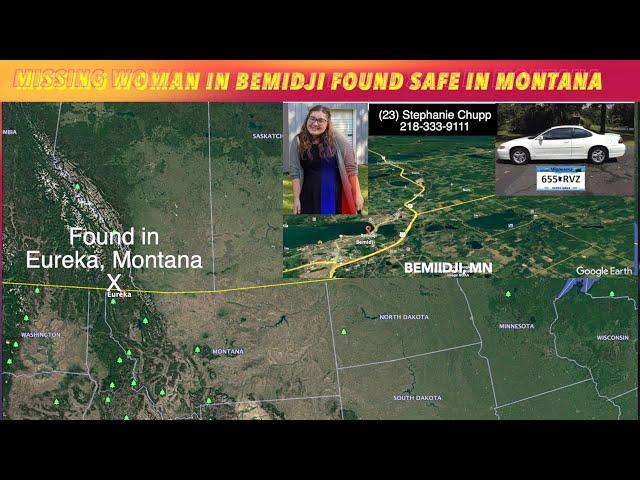 UPDATE: Woman Missing In Bemidji Found Safe In Montana