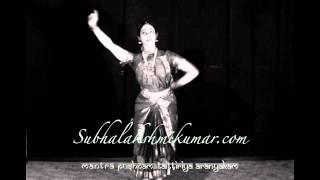 Bharatanatyam Subhalakshmi Kumar Mantra Pushpam WWW.GOODNEWS.WS