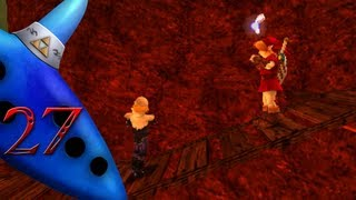 Zelda: Ocarina Of Time 3D - Part 27 | The Fire Temple