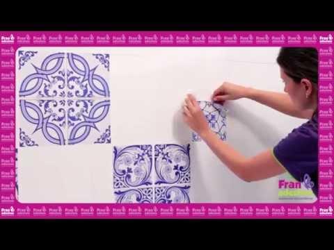 Fran adesivos como aplicar adesivo de azulejo youtube - Como aplicar microcemento sobre azulejos ...