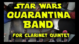 Quarantina (cantina) Band - for clarinet quintet