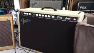 1962 1961 blonde fender twin-amp brownface, 1967 Epiphone Riviera 1966