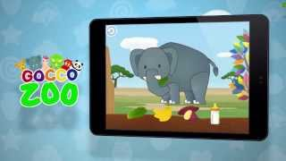 Gocco Zoo Google Play Trailer - Creative Paint & Play for Kids By SMARTEDUCATION,LTD