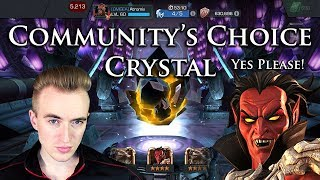Community's Choice Crystal [Mephisto Please!?] | Marvel: Contest of Champions