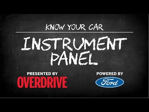 OD & Ford presents: Know Your Car - Instrument panel