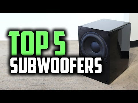 Best Subwoofers in 2019 | Get The Most Out Of Your Music!