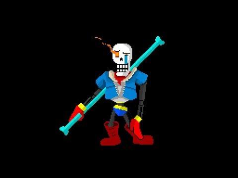 Disbelief Papyrus Undertale 3d Boss Battle Roblox Youtube ...