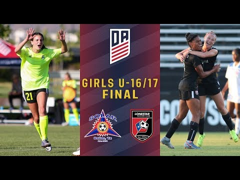 2019 Development Academy Finals: U16/17 Girls Final - Solar SC Vs. Lonestar SC