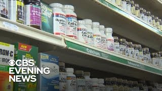 FDA announces crackdown on illegal dietary supplements