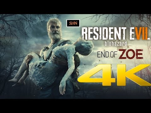 Resident Evil 7 End of Zoe | 4K 60ᶠᵖˢ | Playthrough Gameplay Longplay No Commentary
